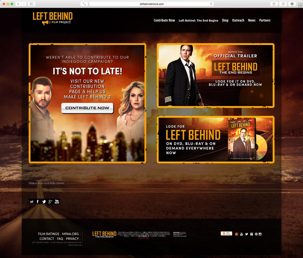 Left Behind Website