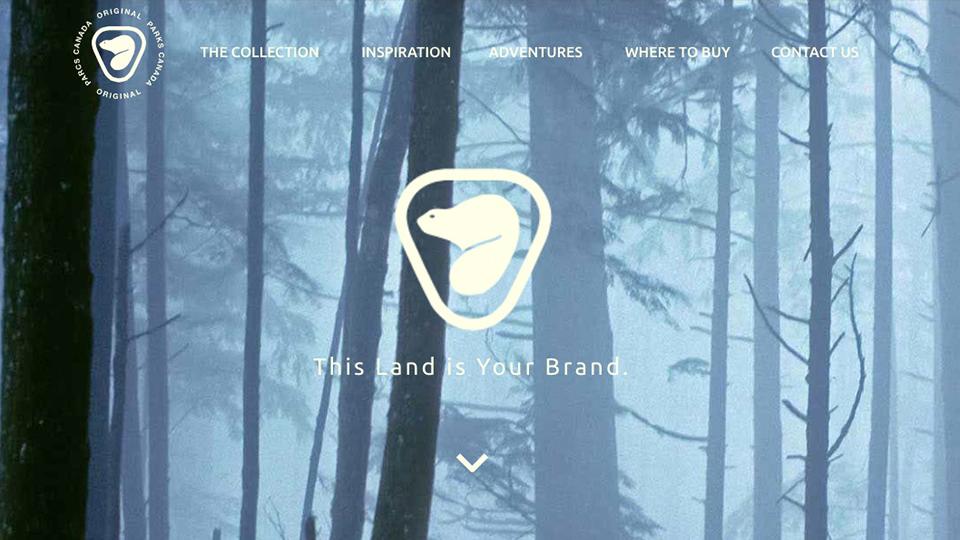 Parks Canada Originals Website
