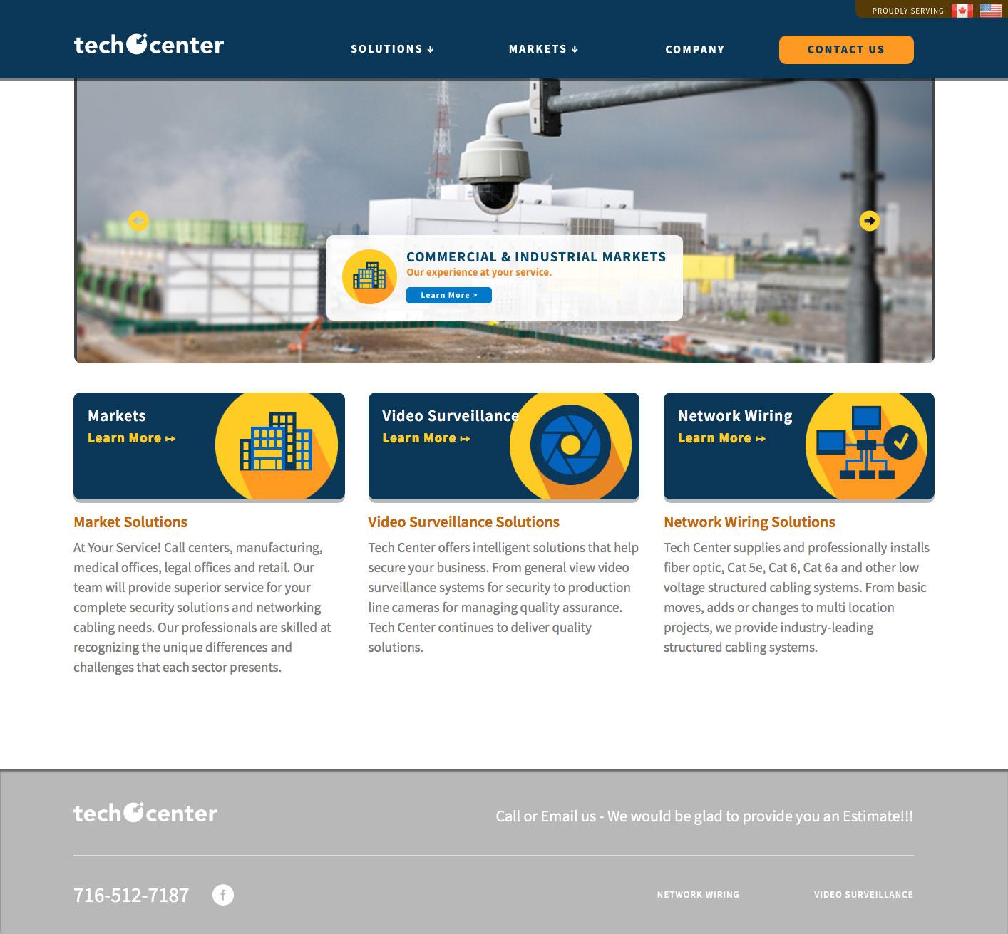 Techcenter Website