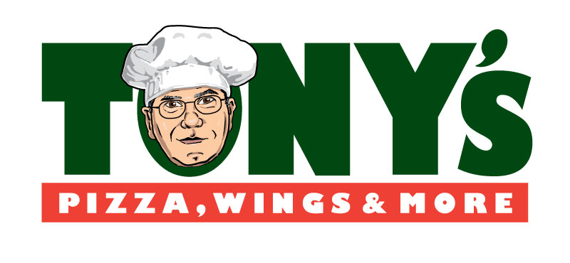 Tony's Pizza Wings & More Logo