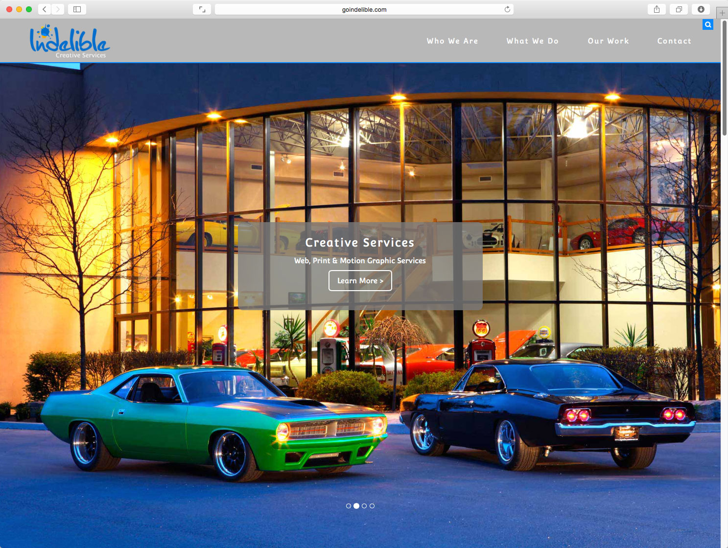 Indelible Creative Services Home Page