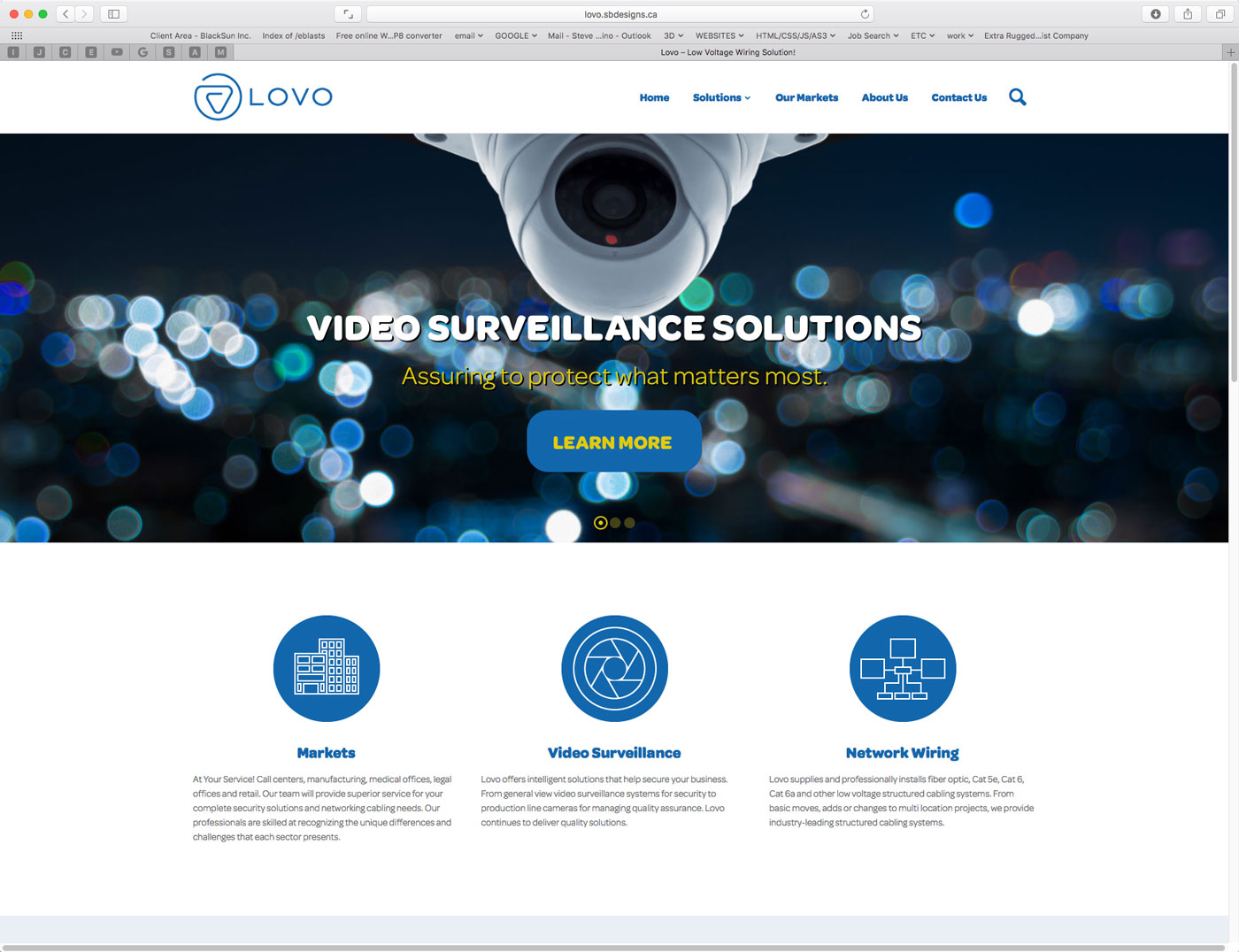 Lovo Home Page