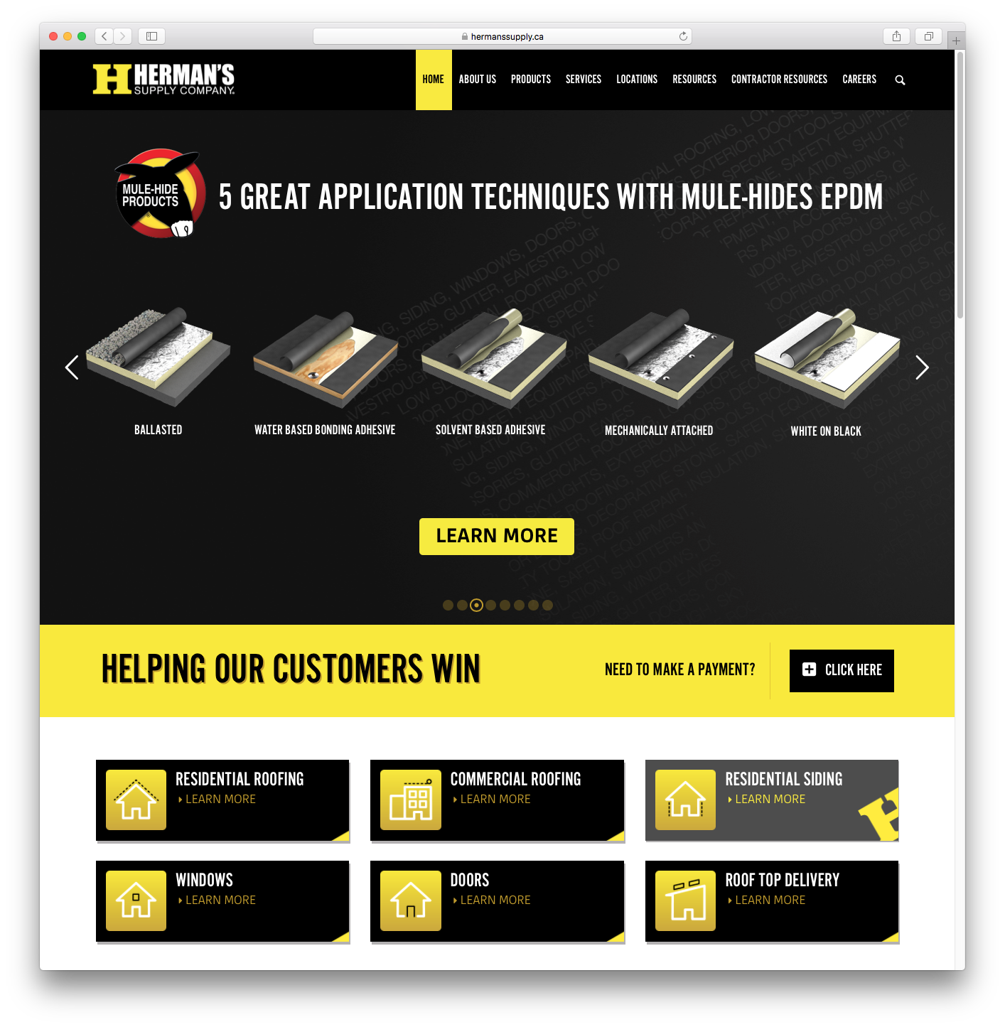 Herman's Supply Company Home Page